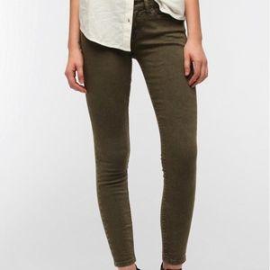 BDG Olive Skinny Jeans